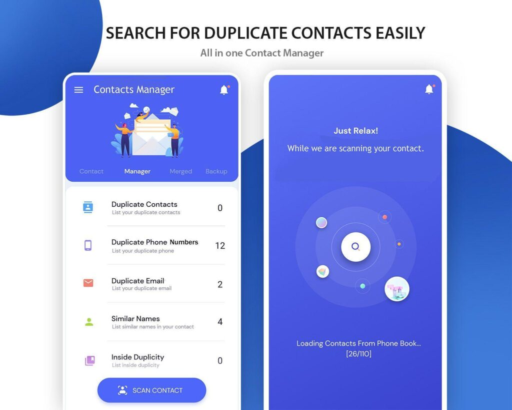 Review Aplikasi Duplicate Contact Manager